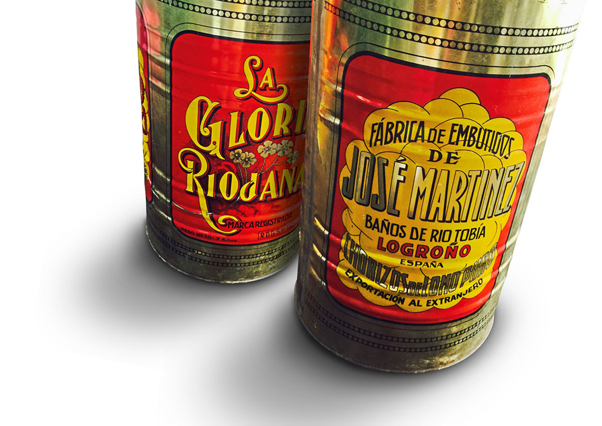 Vintage-Chorizo Verpackung