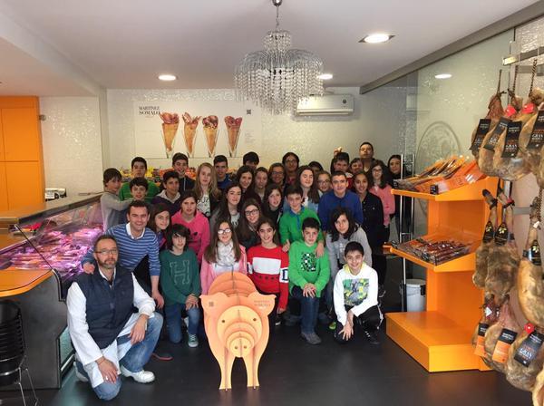 Visita niños Colegio San Pelayo