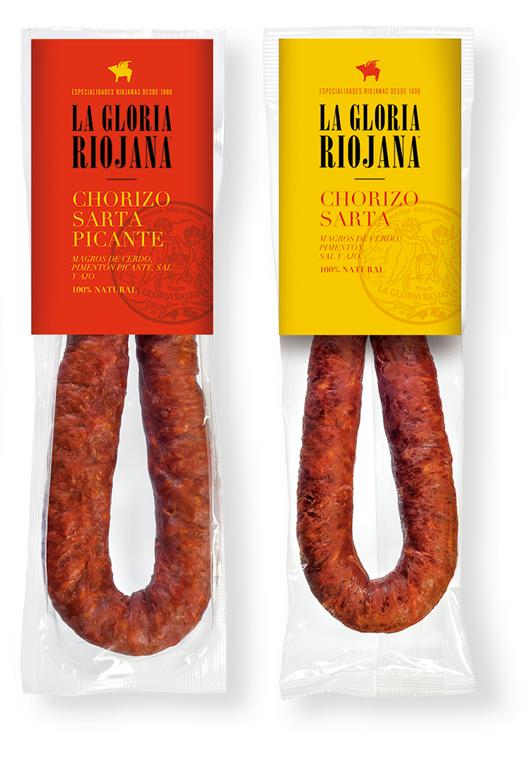 Chorizo Sarta Natural Dulce y Picante La Gloria Riojana La Gloria Riojana