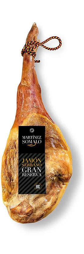 Jamón Serrano Gran Reserva Martínez Somalo