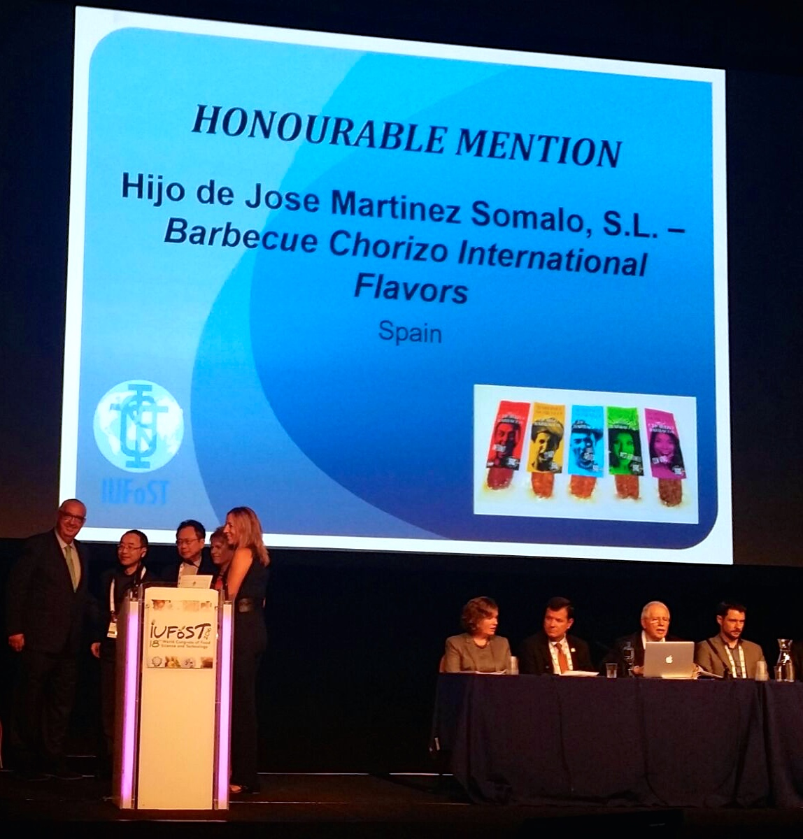 "Chorizo Barbacoa Sabores, ""Mención de Honor"" en premios 'Global Food Industry Awards'"