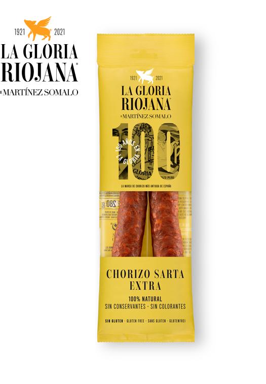 Chorizo Sarta 100% Naturel Doux La Gloria Riojana