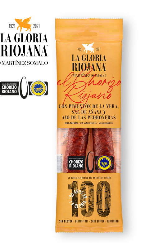 Chorizo Sarta IGP de la Rioja La Gloria Riojana