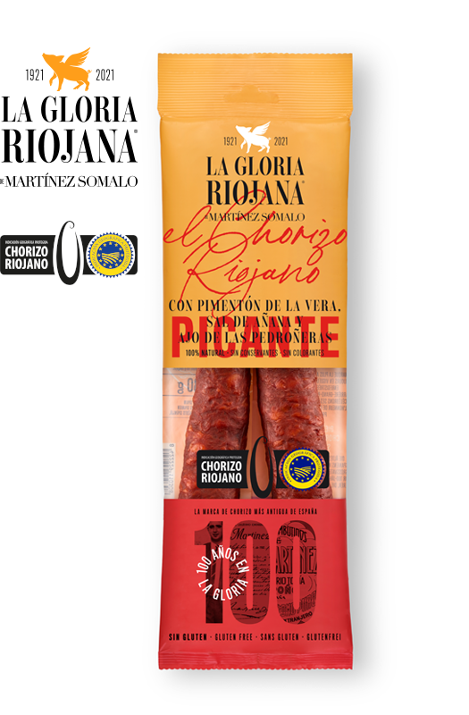 Chorizo Sarta IGP de la Rioja Piquant La Gloria Riojana